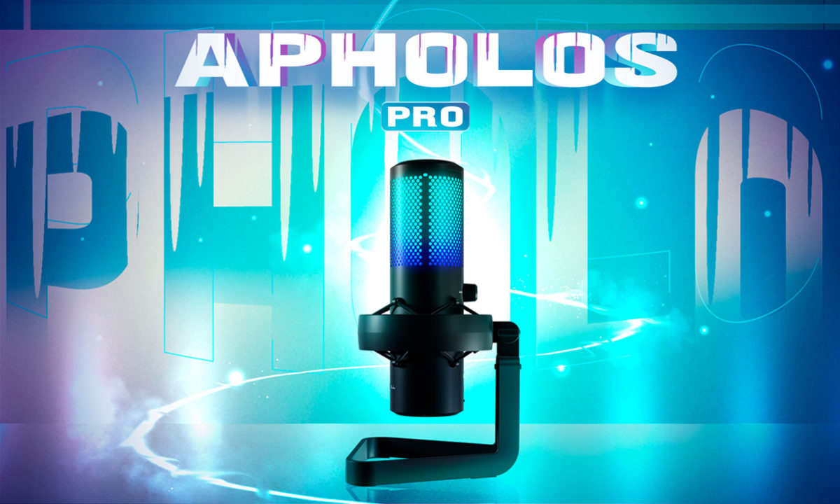 Newskill Apholos Pro y Mic Holder streaming