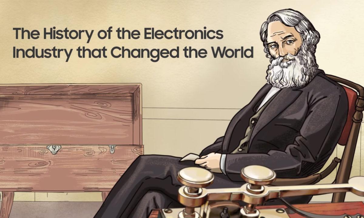 Samsung miniserie historia de la electrónica