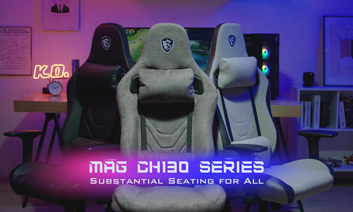 Sillas Gaming MSI MAG CH130 Series