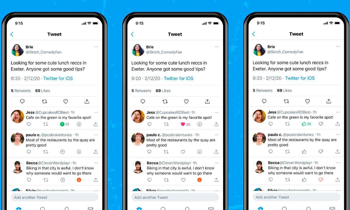 Twitter empieza a probar finalmente el esperado No me gusta