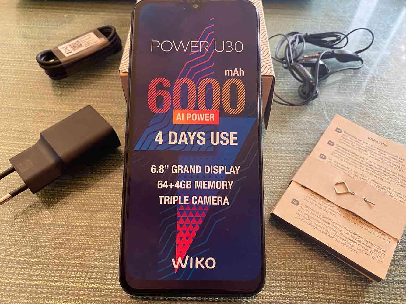 Análisis Wiko Power U30: autonomía y pantalla por bandera
