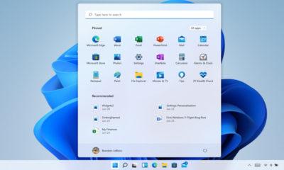 Windows 11 menú de inicio