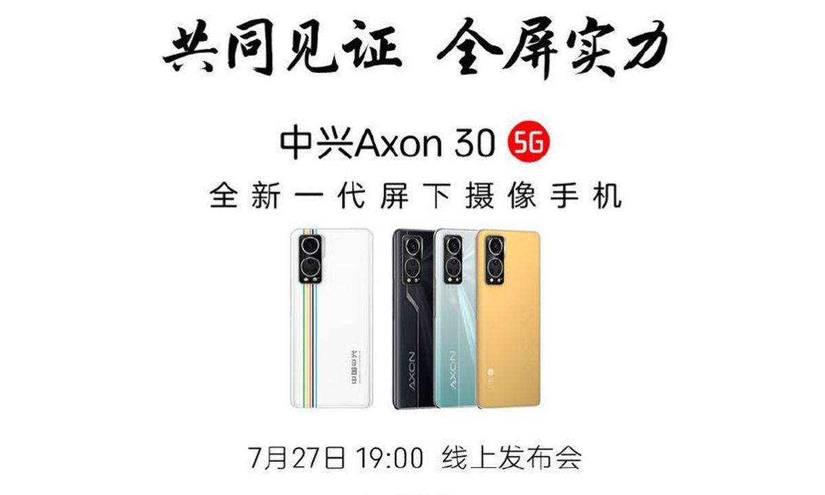 ZTE Axon 30 5G Colores