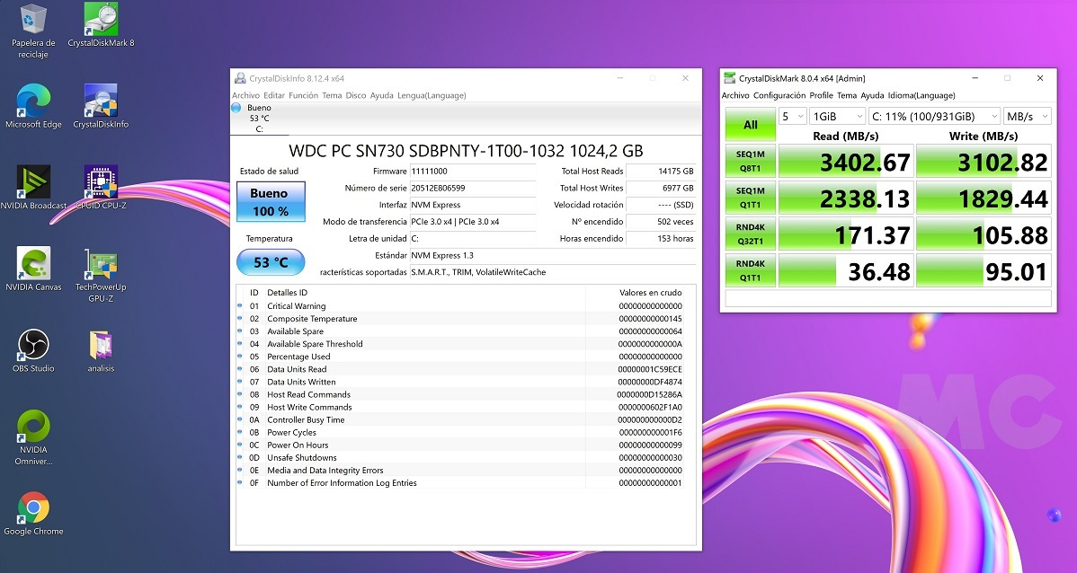 MSI Creator 15 A10UG con RTX 3070 Mobile, análisis: Toda la potencia que necesitas para trabajar, y para jugar 73