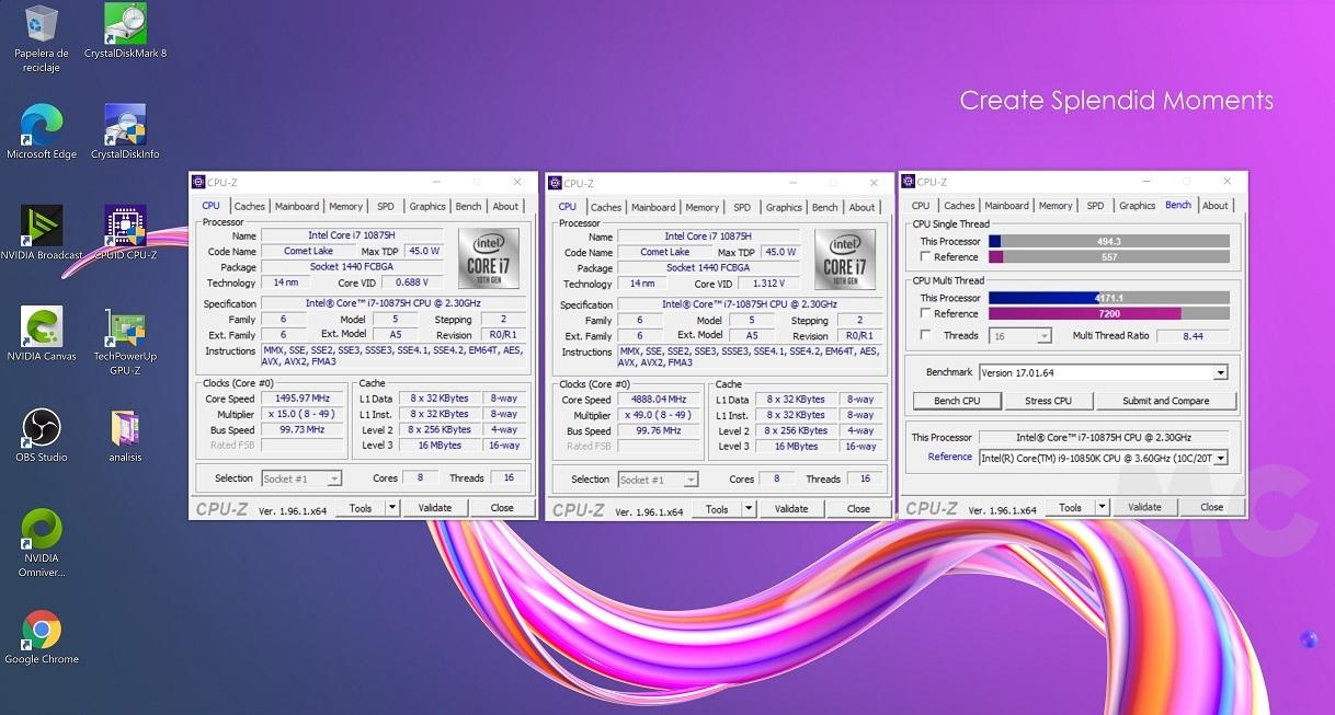 MSI Creator 15 A10UG con RTX 3070 Mobile, análisis: Toda la potencia que necesitas para trabajar, y para jugar 71