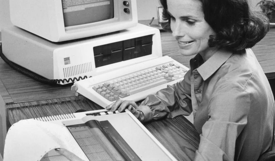 40 años del IBM PC, la computadora que cambió la historia 32