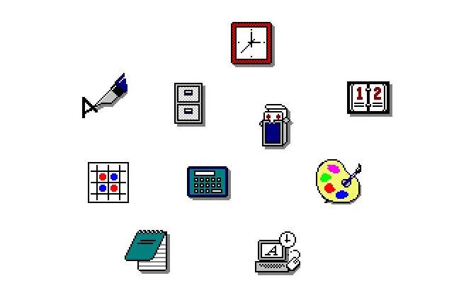 De Windows 1 a Windows 11: historia visual de sus iconos 32