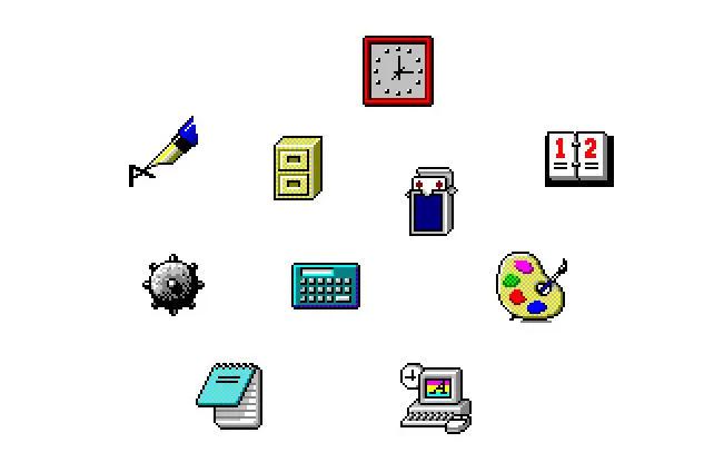 De Windows 1 a Windows 11: historia visual de sus iconos 34