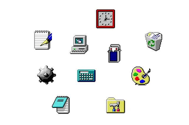 De Windows 1 a Windows 11: historia visual de sus iconos 36