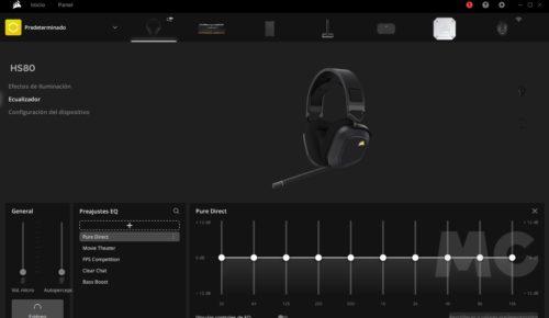Corsair HS80 RGB Wireless, análisis: Sonido premium sin cables 46