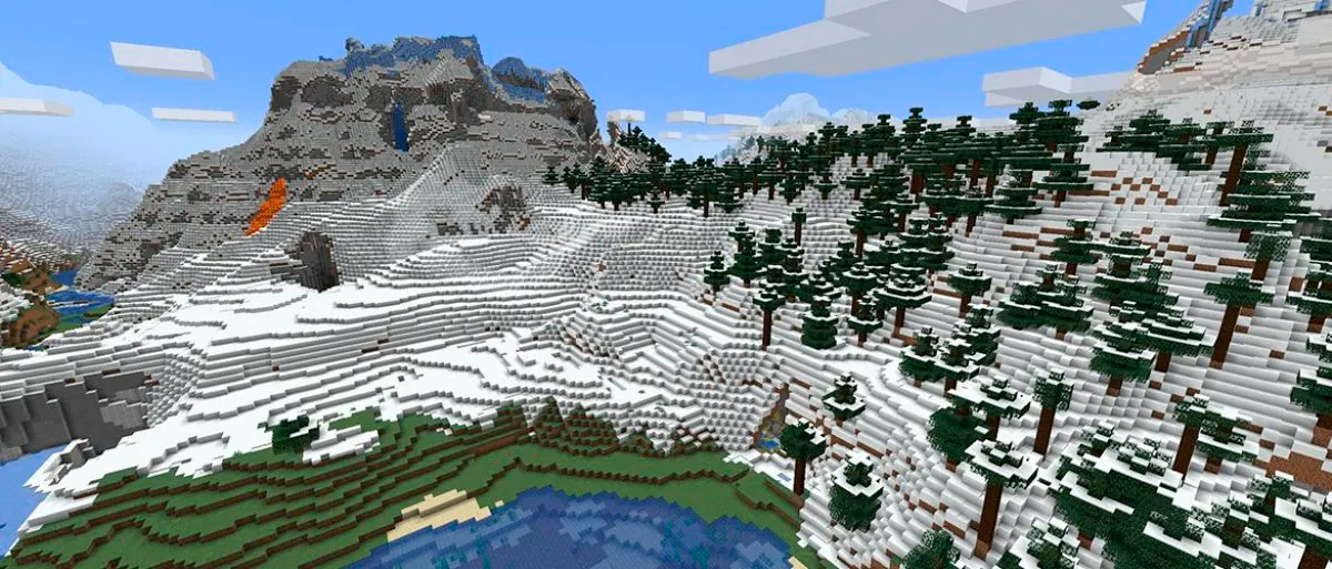 Minecraft 1.18: tercera snapshot experimental con un nuevo bioma