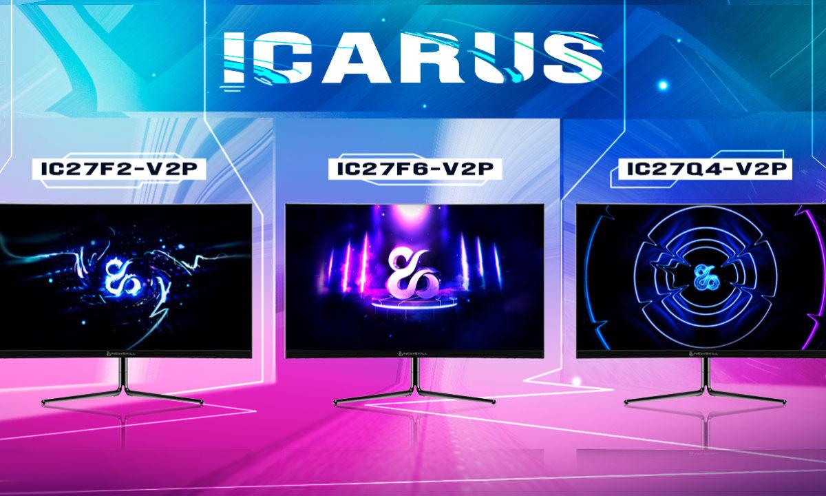 Newskill Icarus aumenta su familia con tres nuevos monitores curvos 30