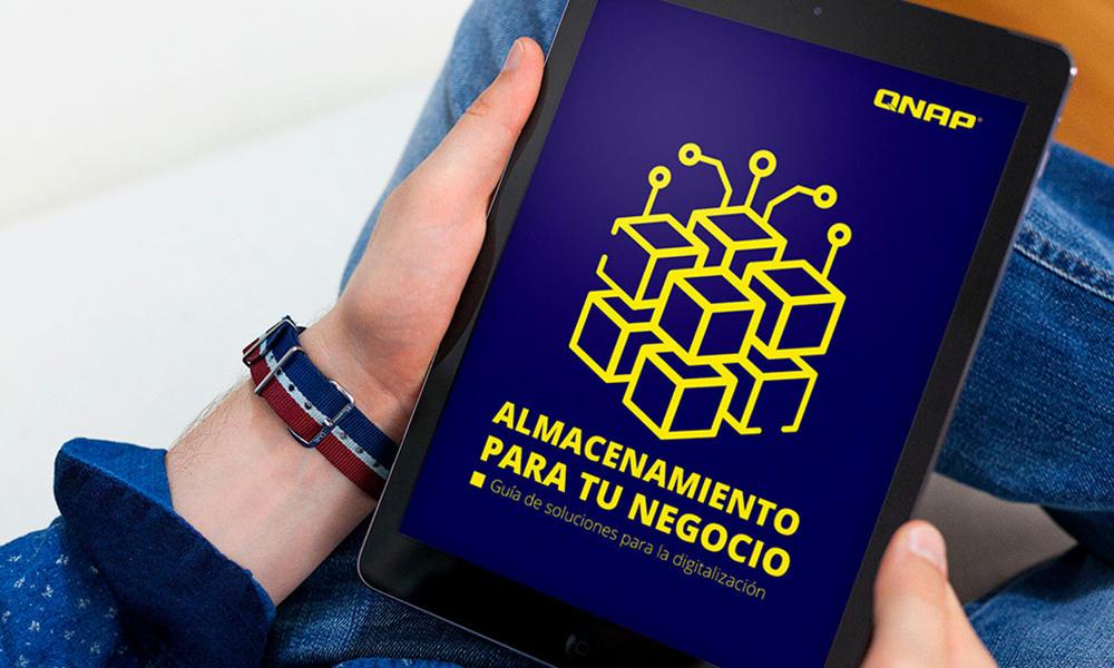 No te pierdas el eBook gratuito de QNAP para almacenamiento de datos 27