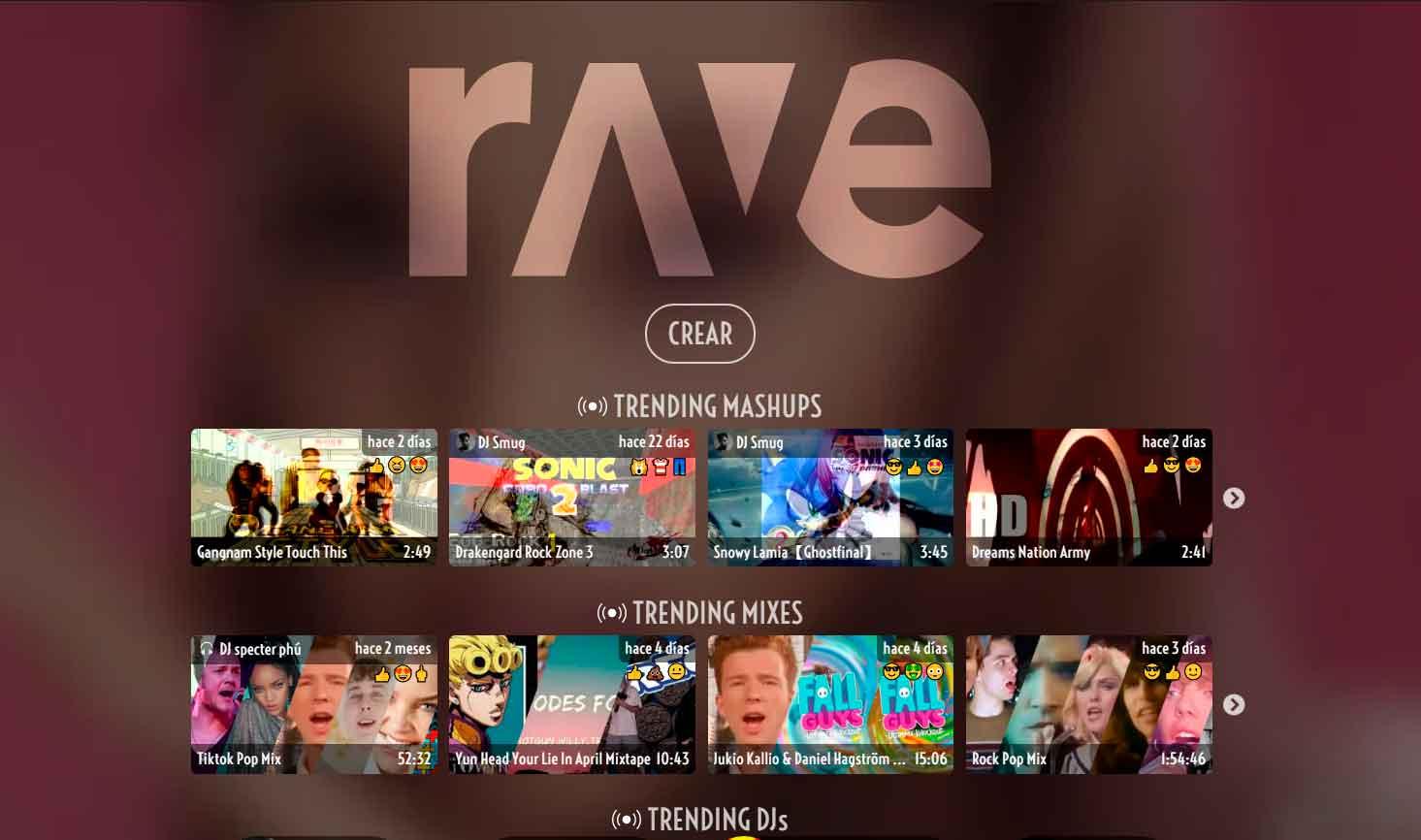 Rave.dj o cómo la inteligencia artificia se hizo DJ