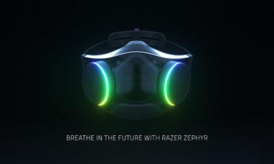 Razer Zephyr mascarilla RGB