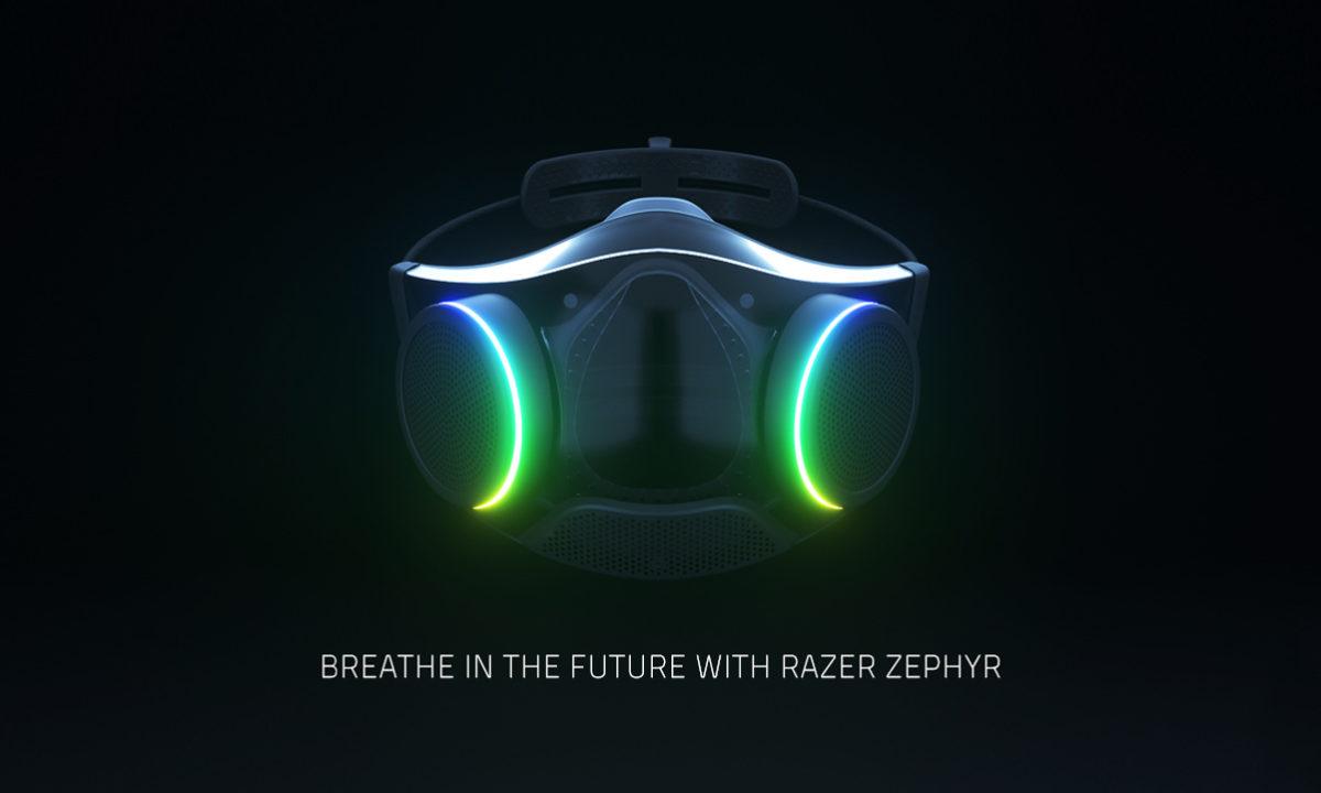 Razer Zephyr, la mascarilla con purificador de aire y RGB