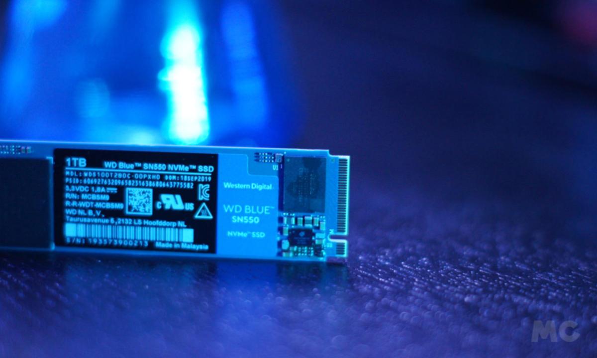 Rendimiento de una SSD WD Blue SN550