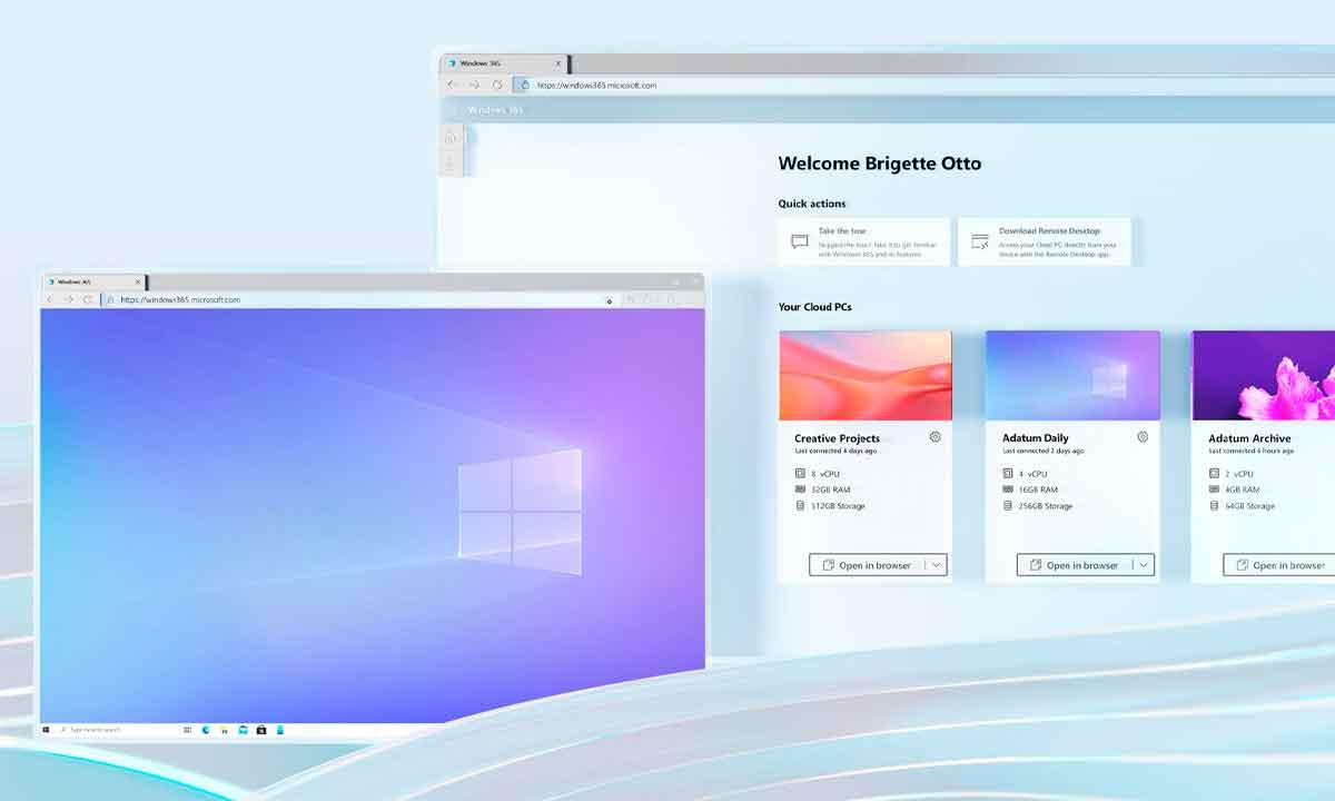 Windows 365 noqueado... de éxito