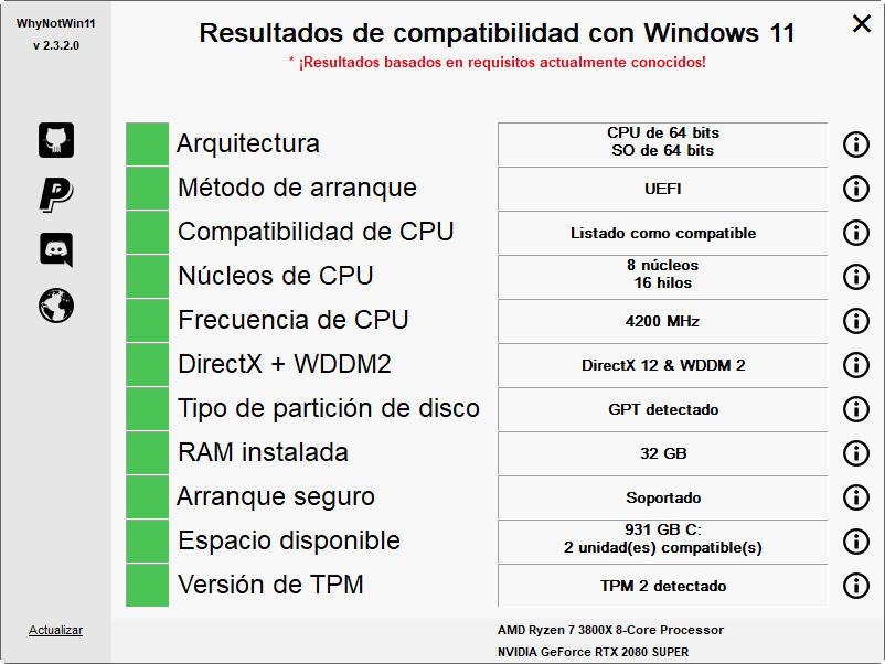 Soporte ASUS para Windows 11
