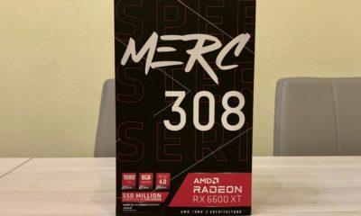 XFX Radeon RX 6600 XT Merc 308