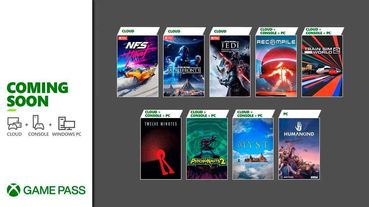 Xbox Game Pass cerrará agosto con 9 nuevos títulos