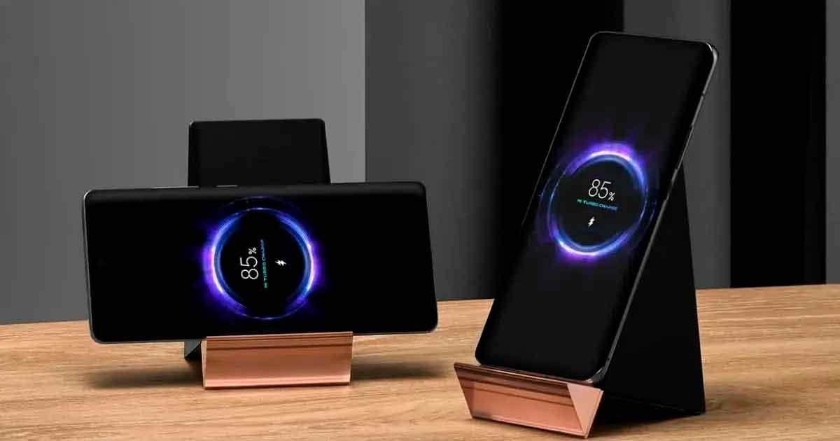Xiaomi anuncia un soporte de carga inalámbrica de 100 vatios