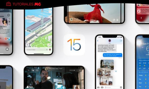Cómo actualizar a iOS 15, iPadOS 15 y watchOS 8 125