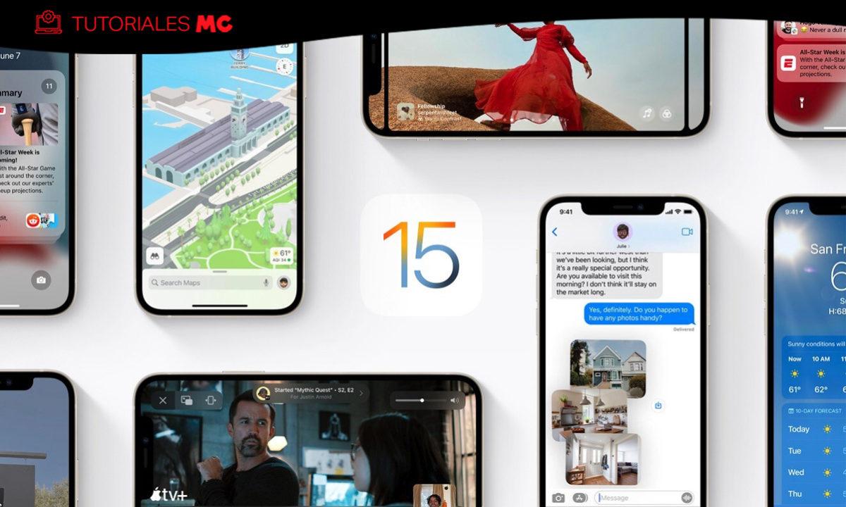 Cómo actualizar a iOS 15, iPadOS 15 y watchOS 8 27