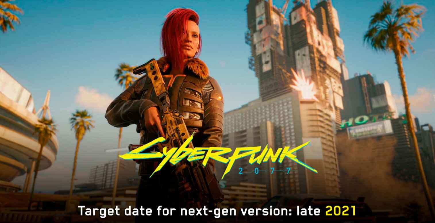 CDPR todavía planea actualizar Cyberpunk 2077 en consola en 2021