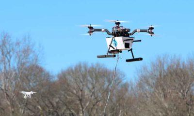 Drones para restablecer la cobertura telefónica
