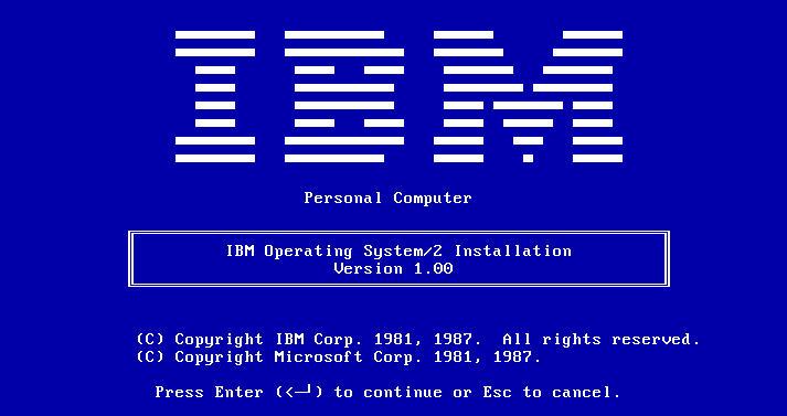 IBM OS/2 Warp 4
