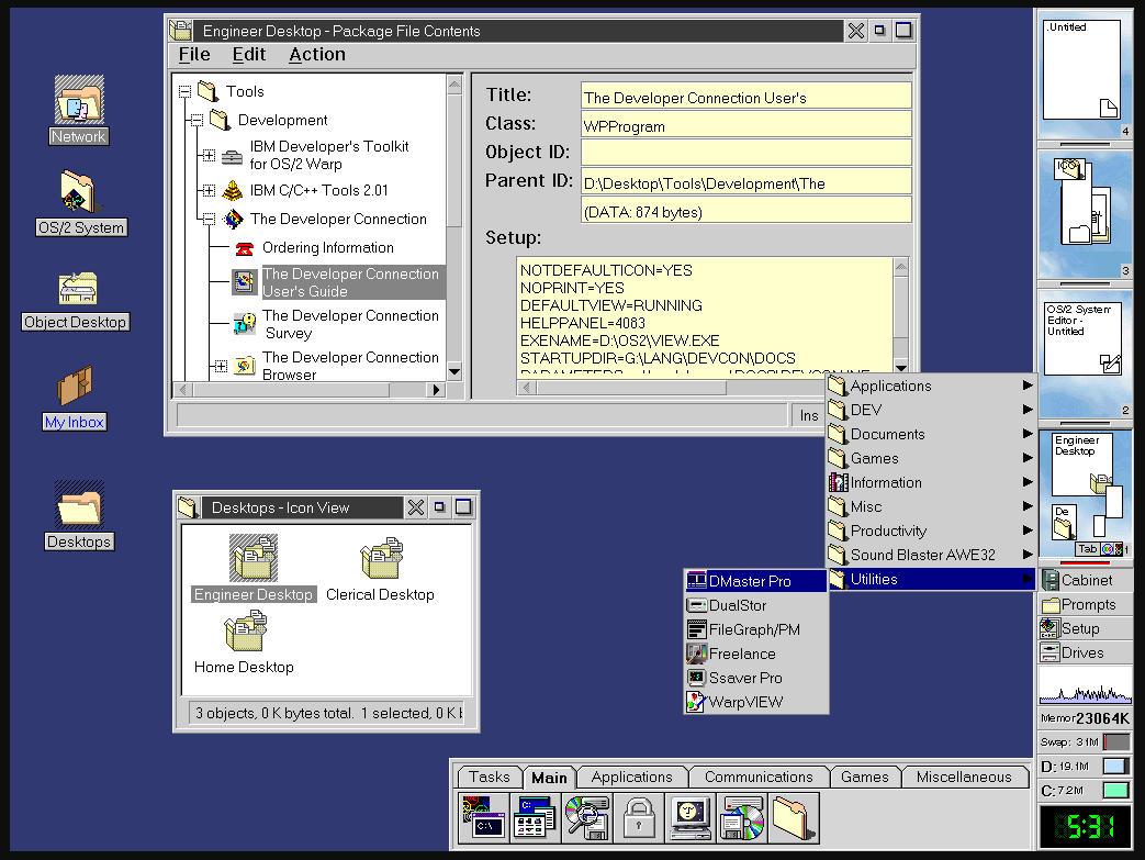 25 años de IBM OS/2 Warp 4, la última batalla contra Windows 31