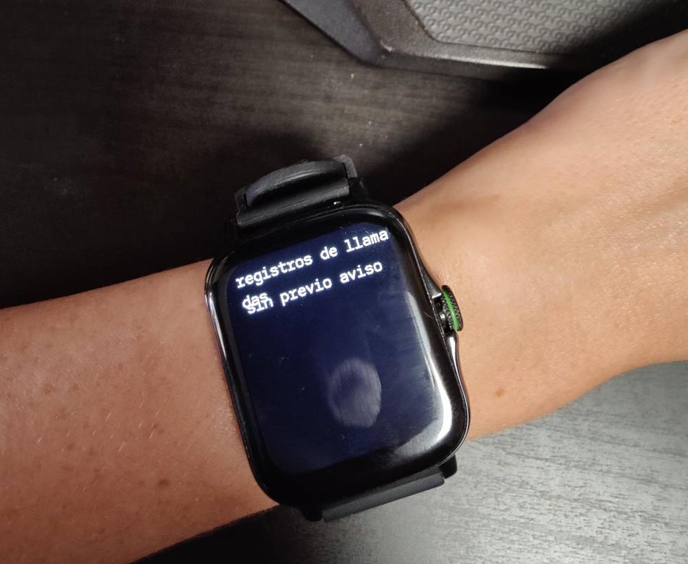 Smartwatch Radiant Las Vegas Premium y Le Baron, análisis 36