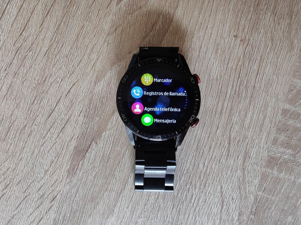 Smartwatch Radiant Las Vegas Premium y Le Baron, análisis 38