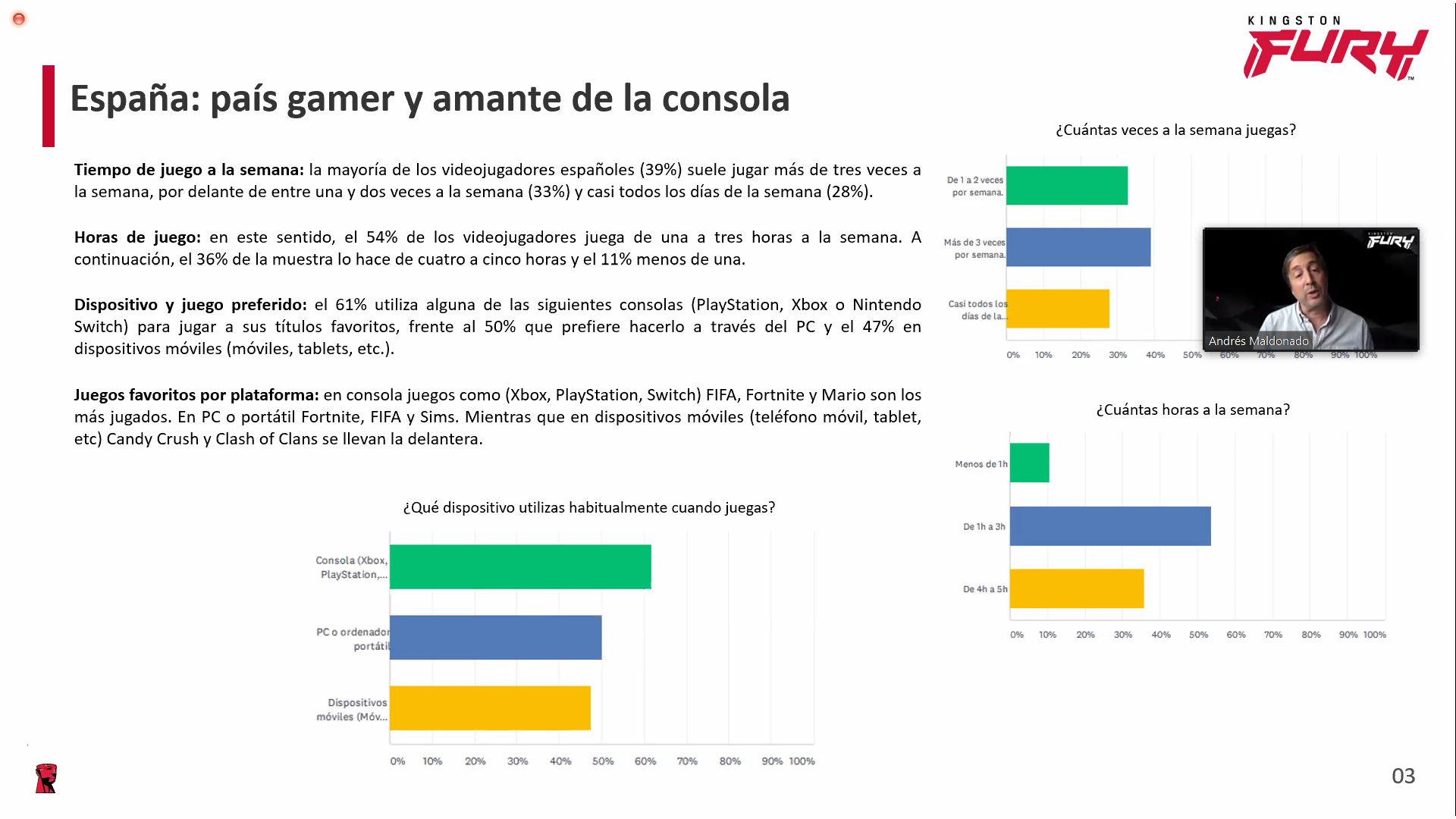Evento Kingston Fury: nueva generación de memorias y el panorama del gaming en España 30