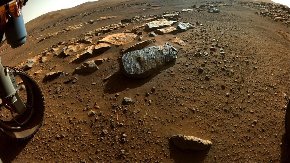 Marte muestras