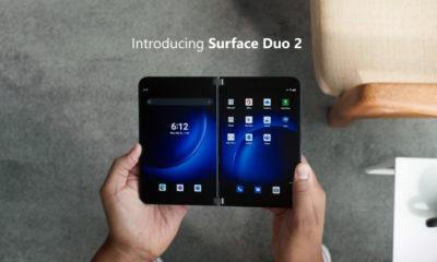 Microsoft Surface Duo 2 presentación oficial