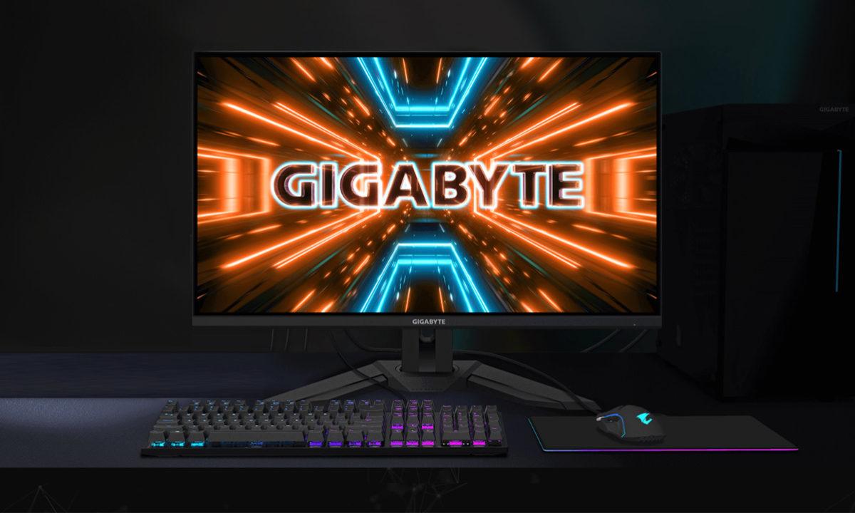 GIGABYTE M32U amplía su familia de monitores gaming al 4K 27