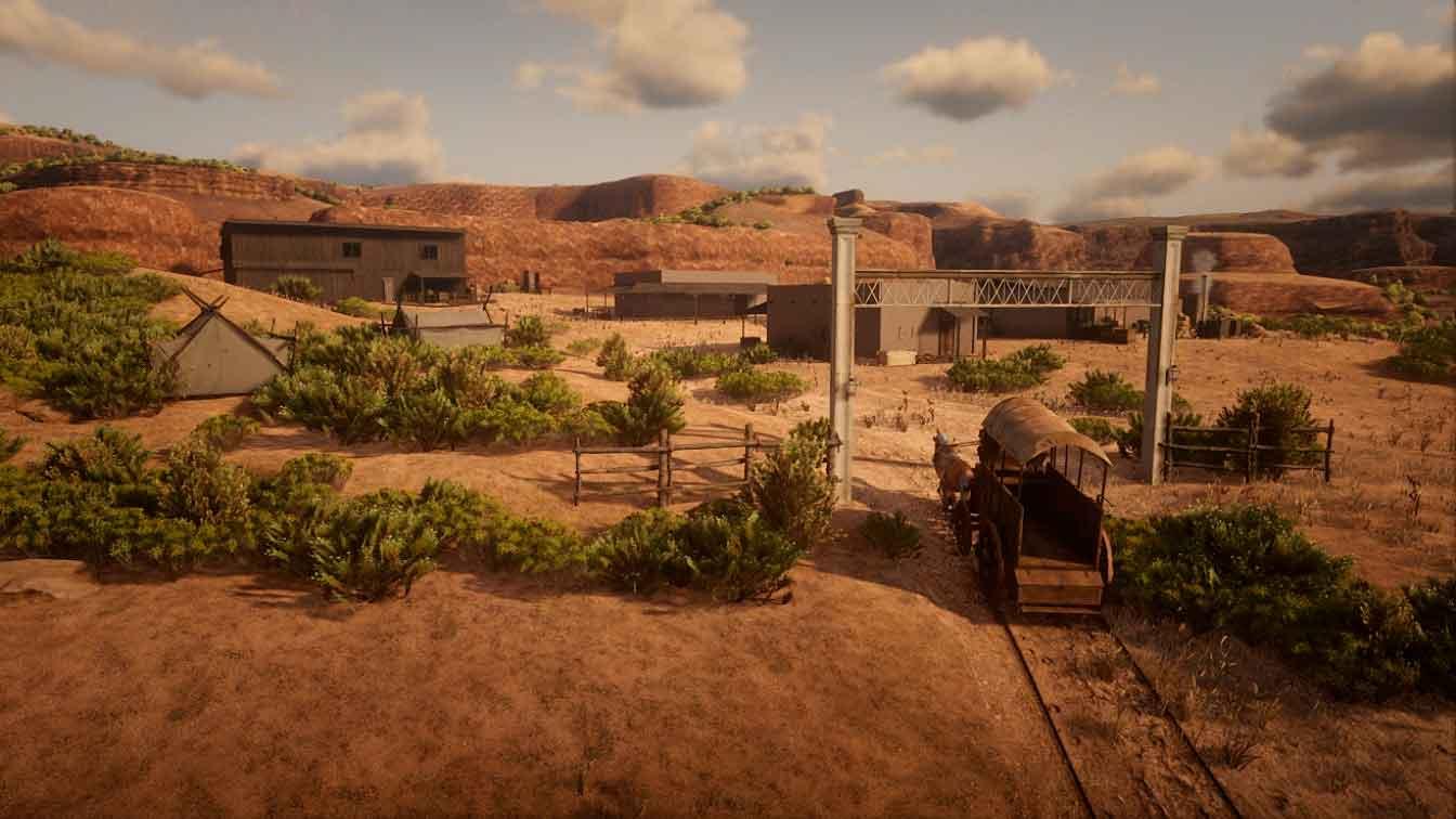 Red Dead Redemption 2: amplía el mapa a lo grande
