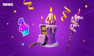 Recompensas Cumpleaños Fortnite 4 Aniversario