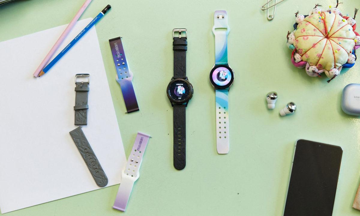 Samsung Galaxy Watch 4 correas ecológicas manzana
