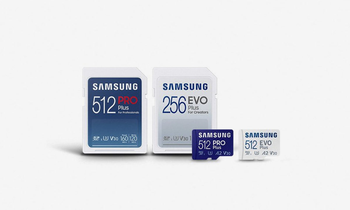 Samsung tarjetas SD EVO Plus
