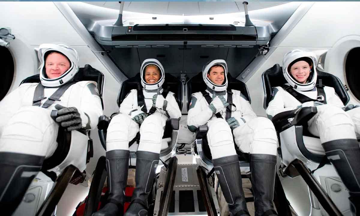 SpaceX ya forma parte del club del turismo espacial