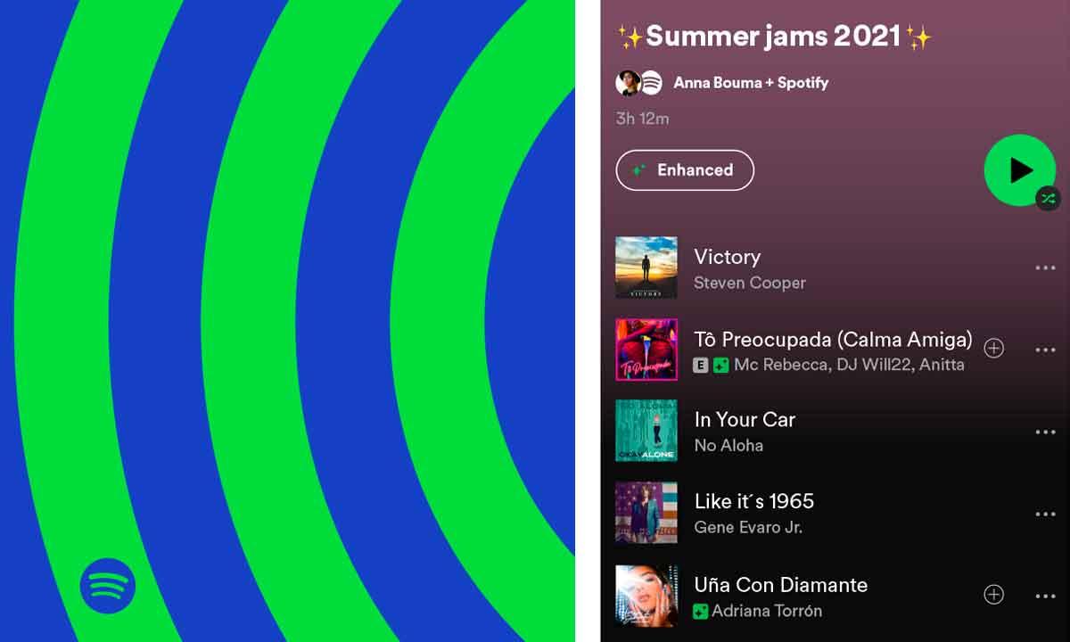 Spotify mejora sus recomendaciones para las listas
