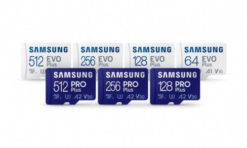 Tarjetas microSD Samsung EVO Plus y Samsung PRO Plus