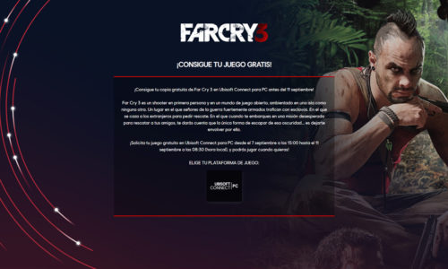 Ubisoft regala Far Cry 3 para PC gratis