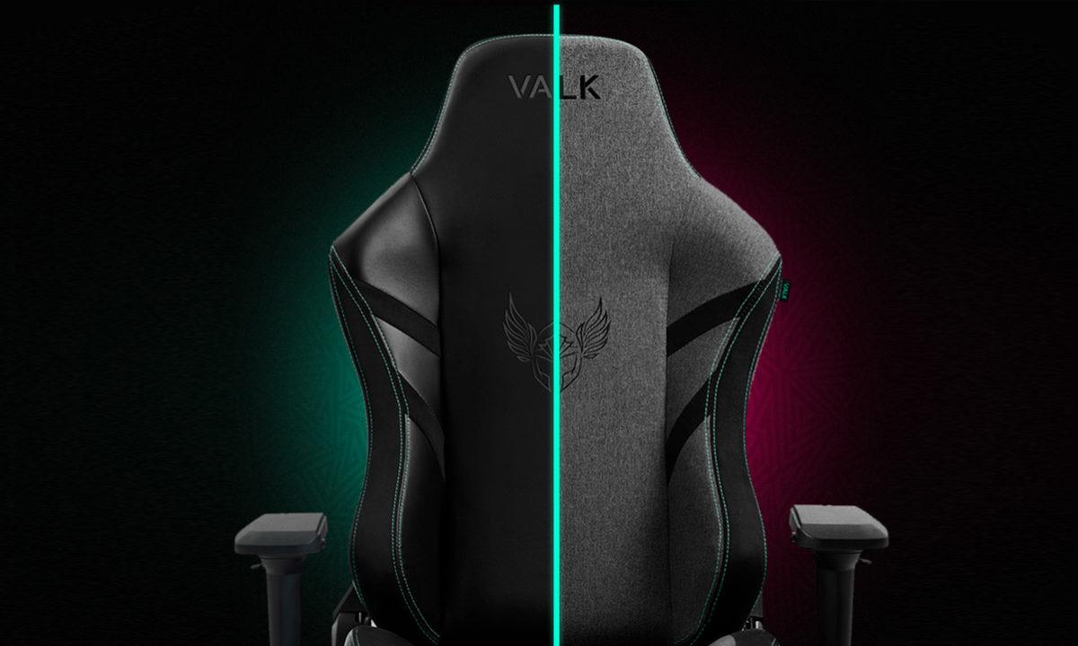 Valk Freya, una silla gaming profesional en versiones de tela y polipiel