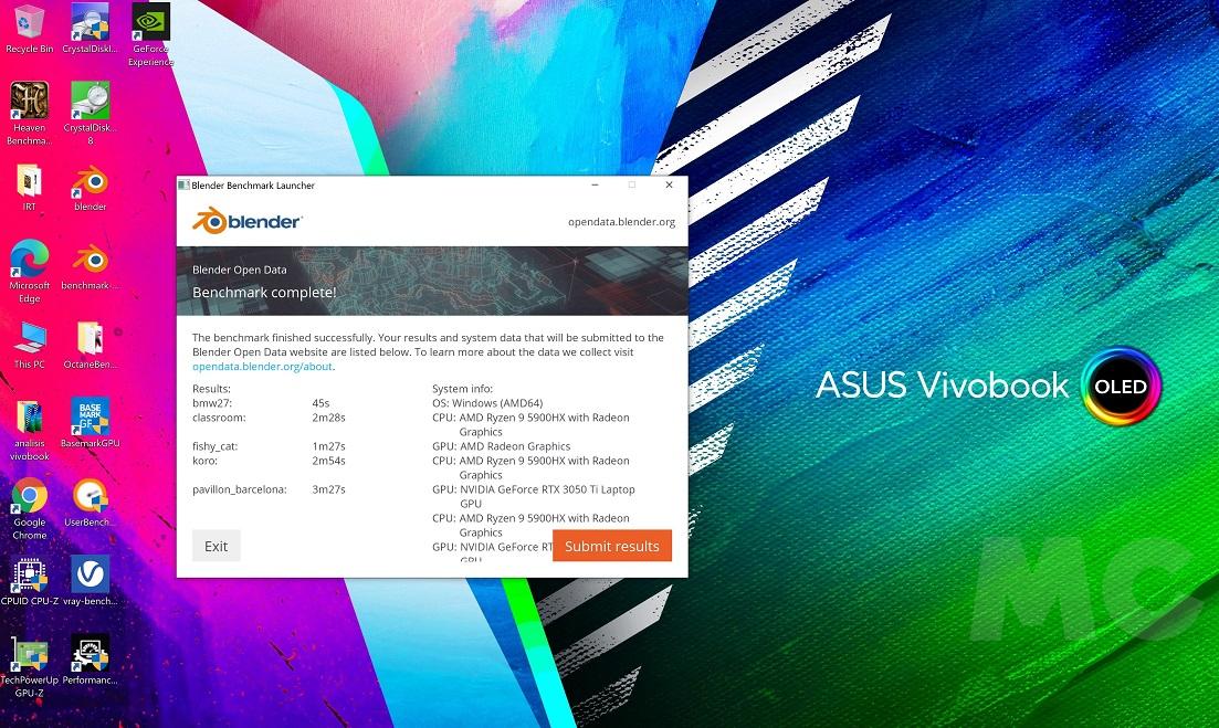 ASUS Vivobook Pro X16, análisis: ASUS reinventa la rueda 74