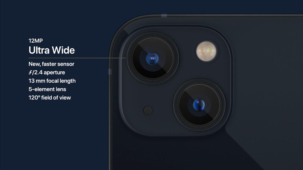 cámaras iPhone 13