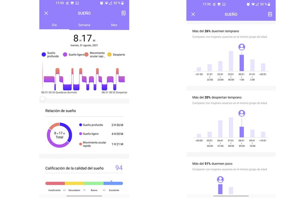 Smartwatch Radiant Las Vegas Premium y Le Baron, análisis 44